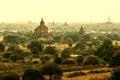 Ancient temples in bagan myanmar Stock Photos