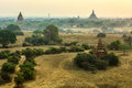 Ancient temples in bagan myanmar Stock Photography