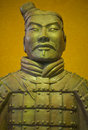 Ancient terracotta army warrior the or the is a collection of sculptures depicting the armies of qin shi huang the first emperor Royalty Free Stock Images