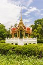 Ancient thai pavilion in thailand sunnyday Stock Images