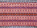 Ancient thai textiles Stock Images