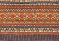 Ancient thai woven cloth Royalty Free Stock Image