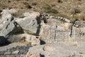 Ancient Thera. Royalty Free Stock Photo