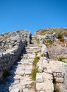 Ancient Thira, Santorini, Greece Stock Photography