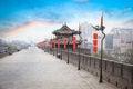 Xian landscape Royalty Free Stock Photo