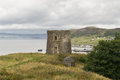 Ancient tower uig isle skye scotland Stock Images