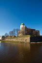 Ancient tower in Viborg Royalty Free Stock Photos