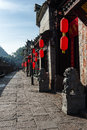 The Ancient town of FuRong Royalty Free Stock Photo