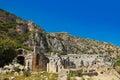 Ancient town in Myra, Turkey Royalty Free Stock Photo