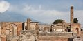 Ancient town pompeii in italy famous ruins of Stock Photography