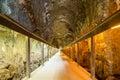 Ancient tunnel of Megiddo, Israel