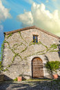 Ancient Typical House in Tuscany Royalty Free Stock Photos