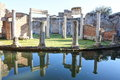 Ancient Villa Adriana Royalty Free Stock Photos