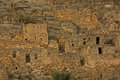 Ancient Village of Misfat al Abriyyin Royalty Free Stock Photo