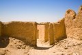 Ancient village ruins chebika of in mountain oasis Royalty Free Stock Image
