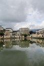 Ancient villages in southern anhui china the water ripples the shooting of crouching tiger hidden dragon Stock Photos