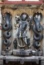 Ancient Vishnu Idol Royalty Free Stock Photo