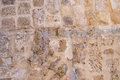 Ancient wall background concrete jaffa israel Royalty Free Stock Image