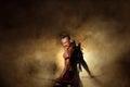 Ancient Warrior Man Of Soldier...