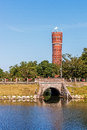 Ancient water tower in Kalmar Royalty Free Stock Photo