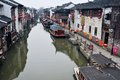 Ancient water towns-shantang suzhou Royalty Free Stock Photo