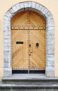 Ancient wooden door Royalty Free Stock Photo