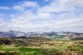 Andalucia Landscape in Spain Royalty Free Stock Photography