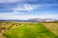 Andalusia landscape tranquil scenery in southern spain Stock Image