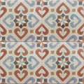 Andalusian pattern, spanish tiles , geometric mosaic design Royalty Free Stock Photo
