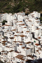 Andalusian village Casares Royalty Free Stock Image