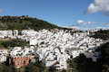 Andalusian village Casares, Spain Royalty Free Stock Photos