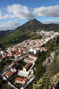 Andalusian village Gaucin, Spain Royalty Free Stock Image