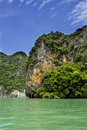 Andaman bay island thailand asia Royalty Free Stock Photography