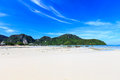 Andaman breach island at krabi thailand Royalty Free Stock Photo