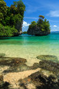 Andaman island hong sea krabi thailand Stock Photos