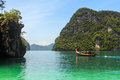 Andaman sea beach at hong island krabi thailand Stock Photos