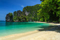 Andaman sea hong island krabi thailand Royalty Free Stock Photography