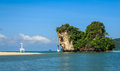 Andaman sea tranquil krabi thailand Royalty Free Stock Photo