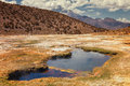 Andean geysers the Junthuma, formed by geothermal activity, Bolivia Royalty Free Stock Photo
