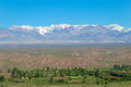 Andes Snowcapped Range In The ...