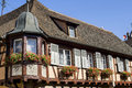 Andlau (Alsace) - House Stock Photos