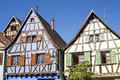Andlau (Alsace) - Houses Royalty Free Stock Photography