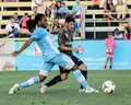 Andre campbell wilmington hammerheads defender Royalty Free Stock Image