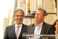 Andrea Bocelli,David Foster Stock Photo