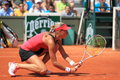 Andrea Hlavackova - French open 2012 Royalty Free Stock Images