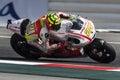 Andrea Iannone, MotoGP Montmelo Royalty Free Stock Photo