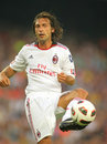 Andrea Pirlo player of AC Milan Royalty Free Stock Photo