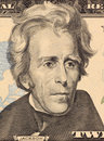 Andrew Jackson Royalty Free Stock Photo