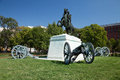 Andrew jackson in lafayette square washington d c Royalty Free Stock Photo