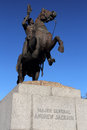 Andrew jackson monument historic in square new orleans Royalty Free Stock Photography